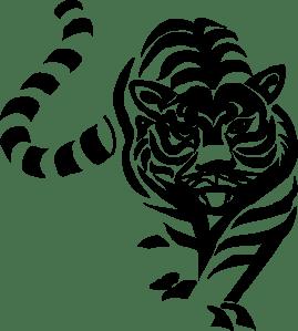 art pixabay CC0 tiger